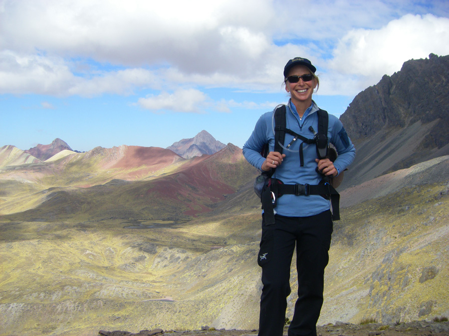Enjoying the High Andes of Peru!