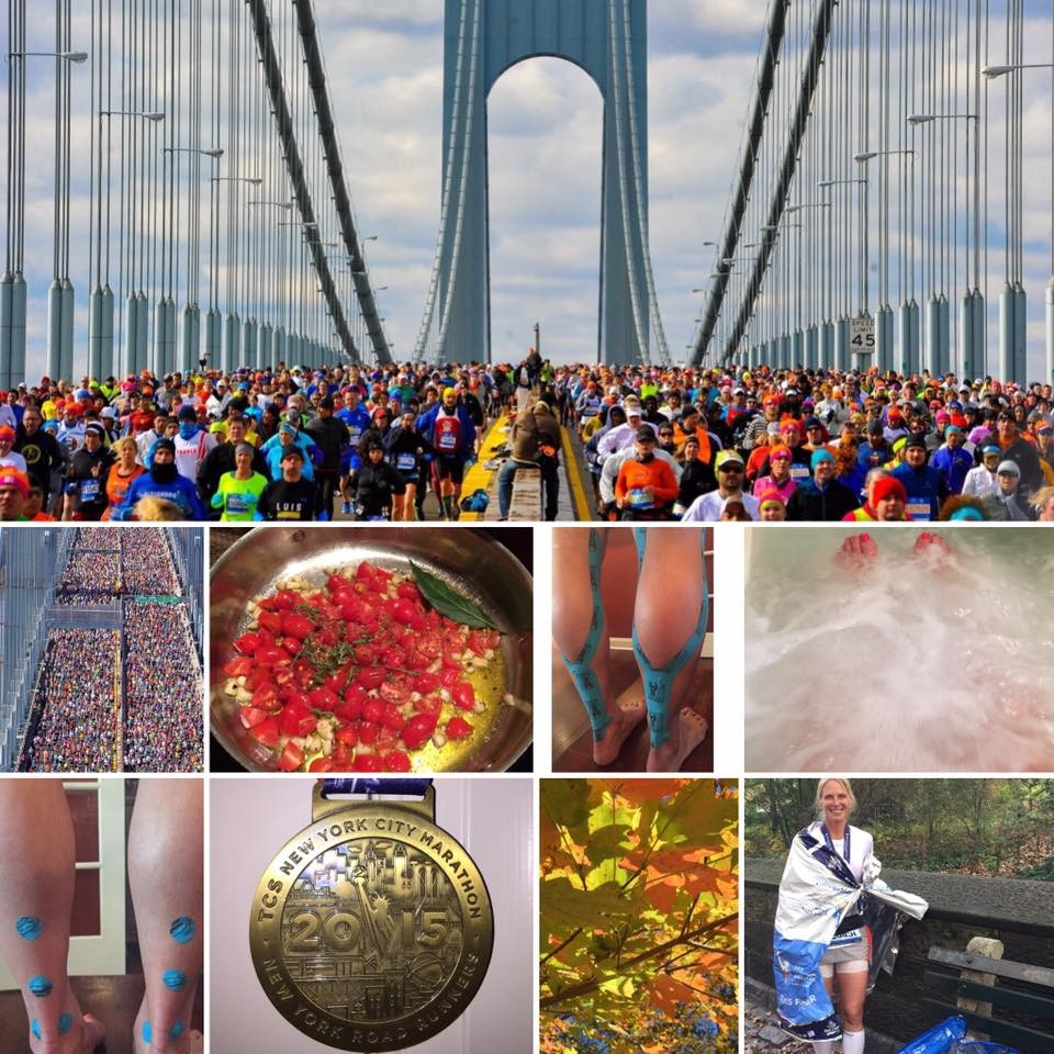 A Journey of Pleasure, Pain and Inspiration...The New York City Marathon 2015